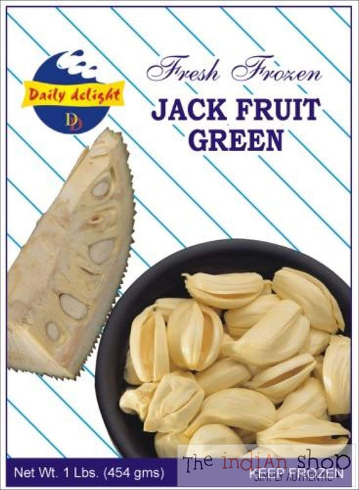 Daily Delight Frozen Jack Fruit Green - 400 g - Frozen Vegetables