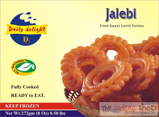 Daily Delight Jalebi Red - 227 g - Mithai