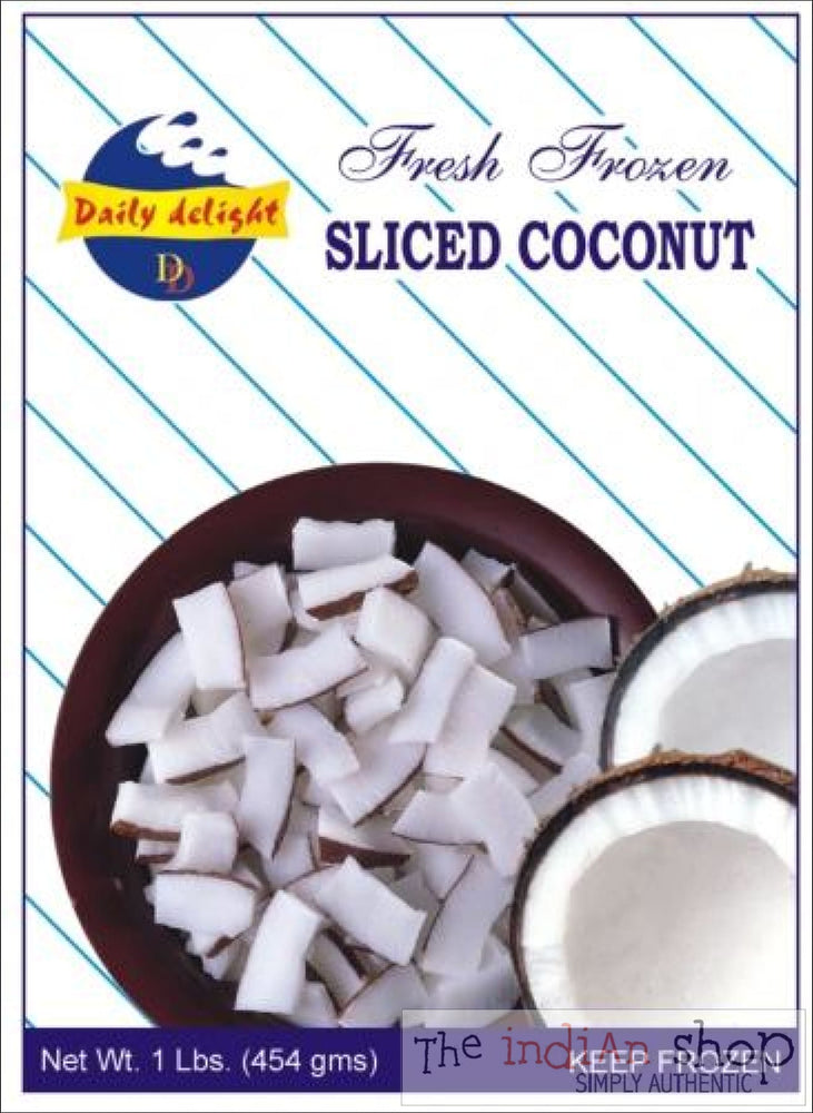 Daily Delight Frozen Sliced Coconut - 400 g - Frozen Vegetables
