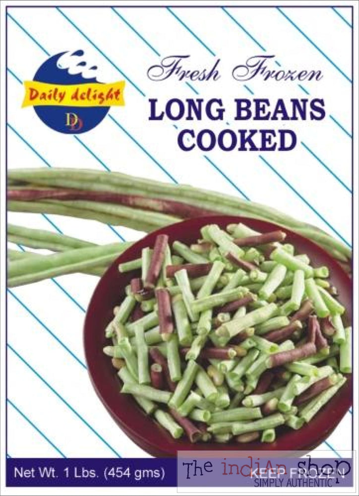 Daily Delight Frozen Long beans - 400 g - Frozen Vegetables