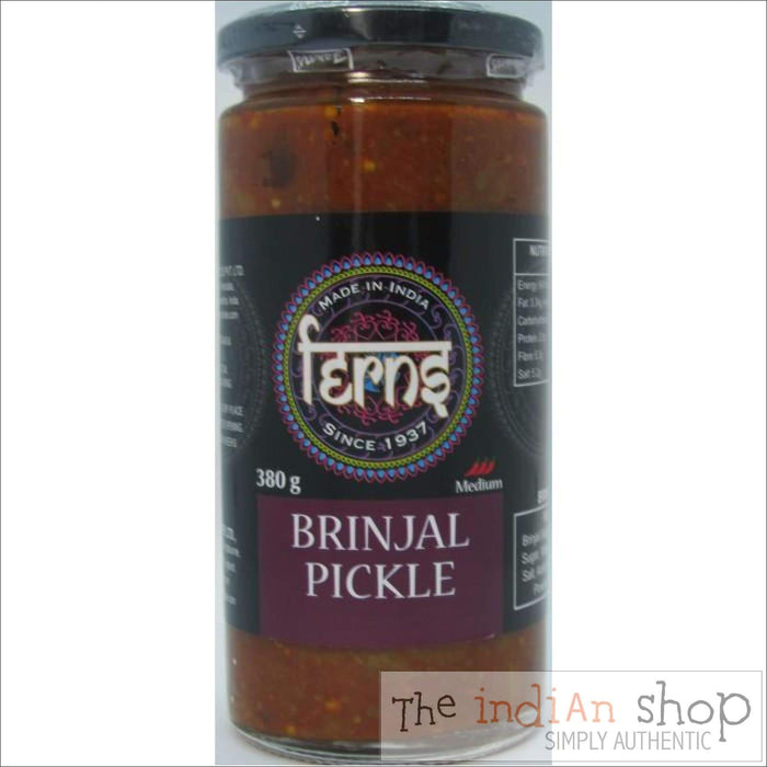 Ferns Brinjal Pickle - 380 g - Pickle