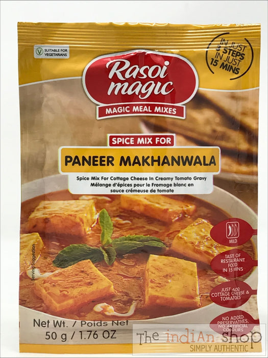 Rasoi Magic Paneer Makhanwala - 50 g - Mixes