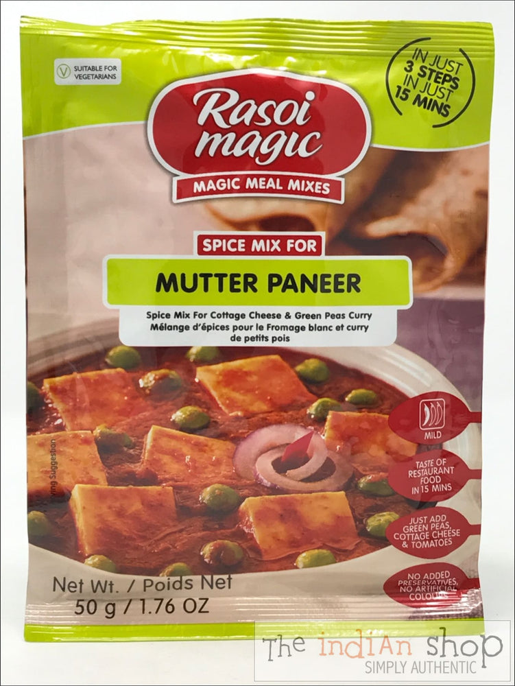 Rasoi Magic Mutter Paneer - 50 g - Mixes