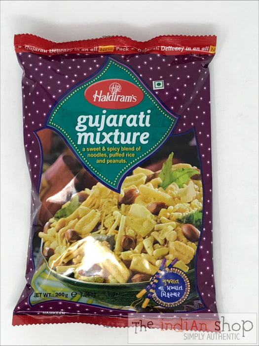 Haldirams Gujarati Mix - 200 g - Snacks