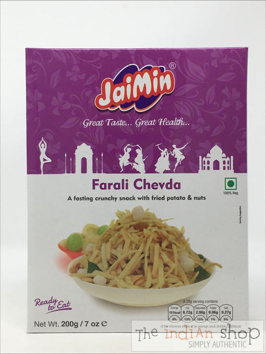 Jaimin Farali Chevda - 200 g - Snacks