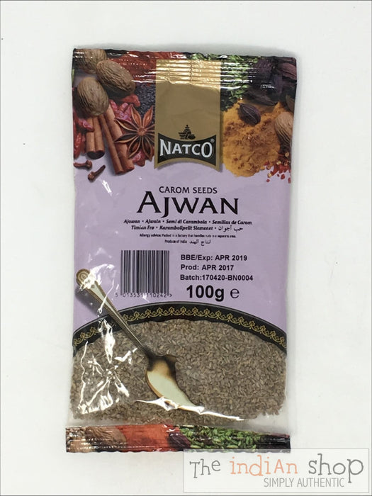 Natco (Thyme) Ajwan Seeds - 100 g - Spices
