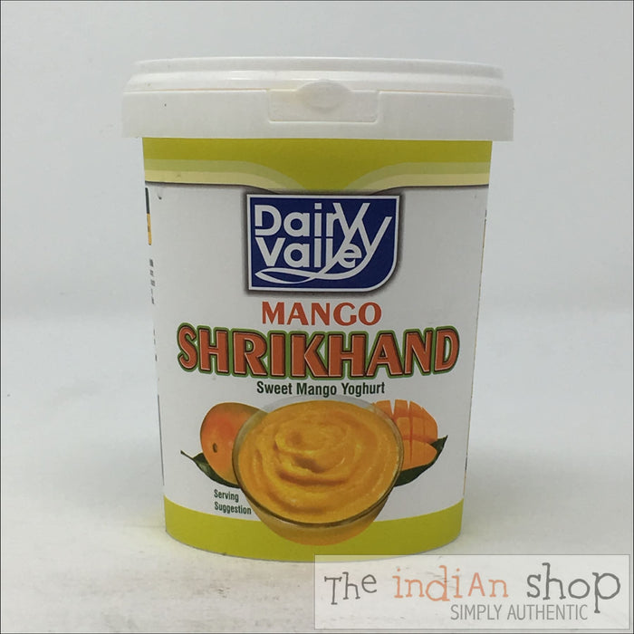 Dairy Valley Mango Shrikhand - 500 g - Chilled Mithai