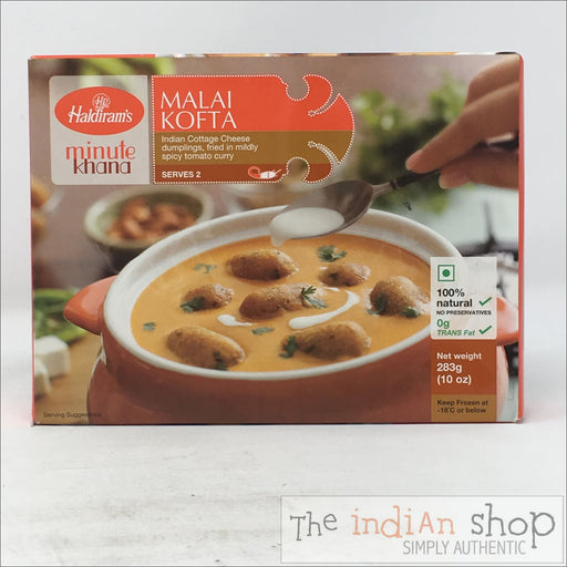 Haldiram Malai Kofta - 283 g - Frozen Curries