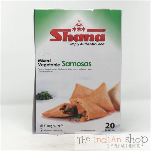 Shana Mixed Vegetable Samosas - 800 g - Frozen Snacks