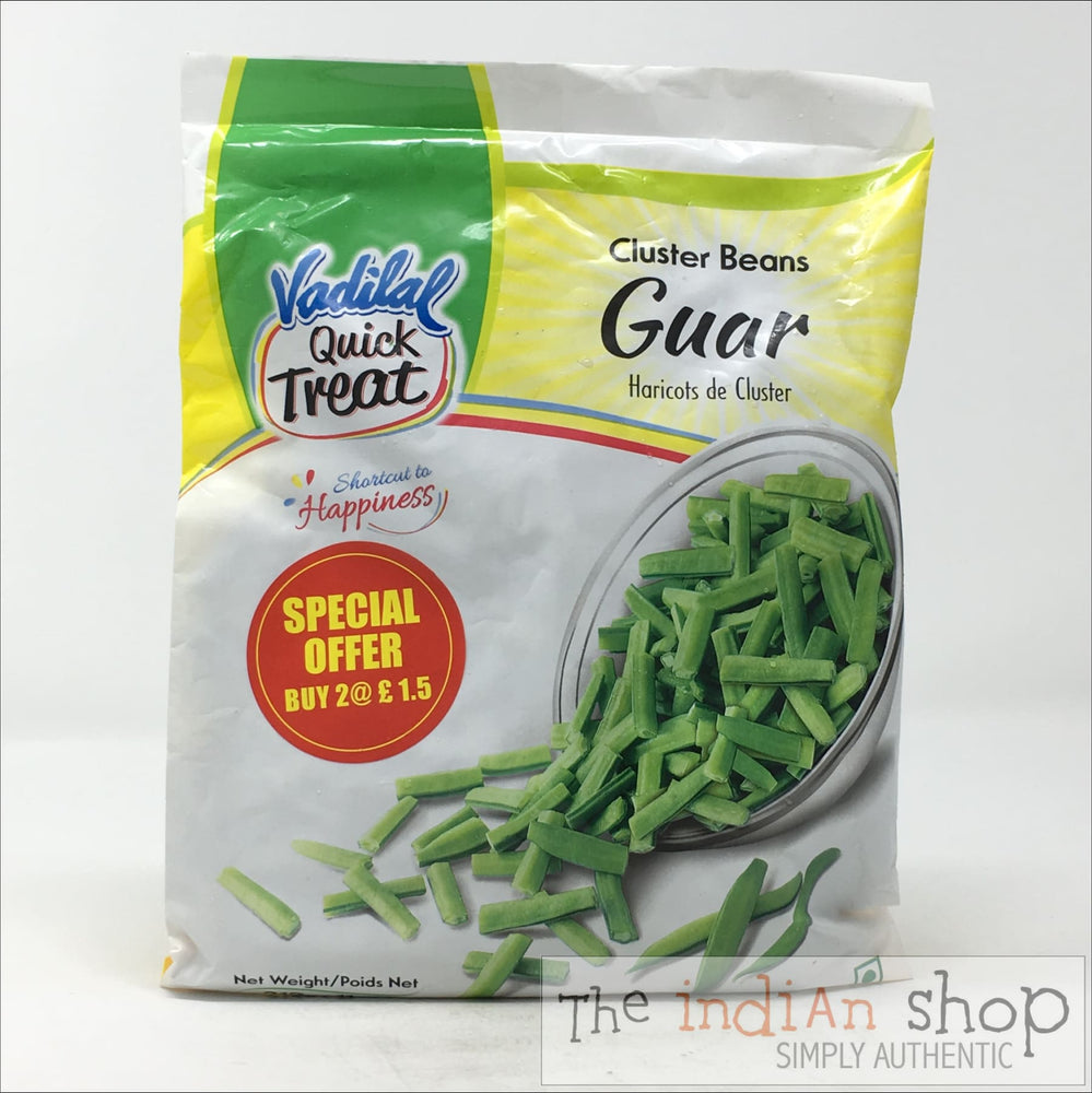 Vadilal Frozen Guar (Cluster Beans) - 312 g - Frozen Vegetables