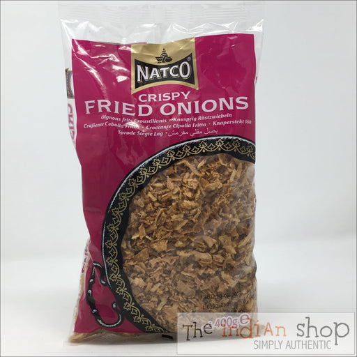 Natco Crispy Fried Onion - 400 g - Other interesting things