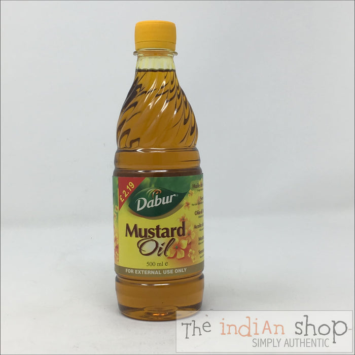Dabur Mustard Oil External use - 500 ml - Oil
