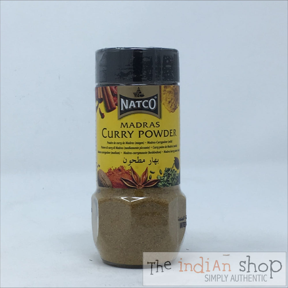 Natco Madras Curry Powder ( Medium) Jar - 100 g - Spices