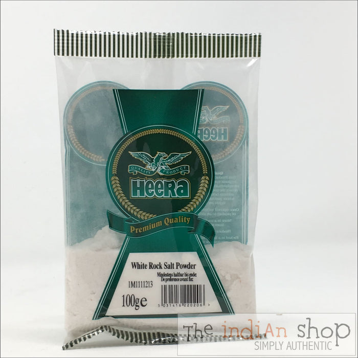 Heera White Rock Salt - 100 g - Spices