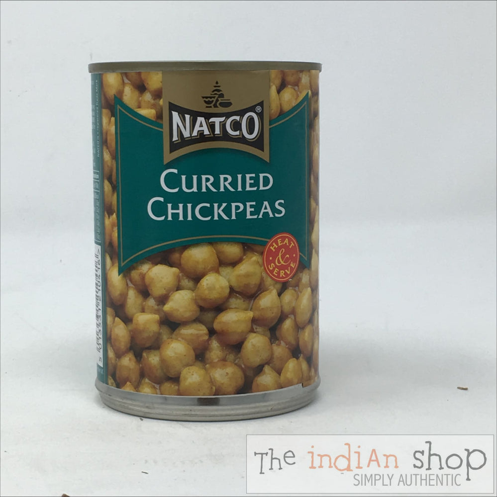 Natco Chick Peas Curried - Canned Items