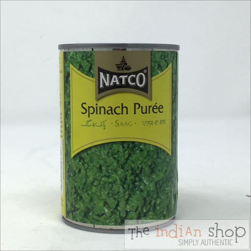 Natco Spinach Puree - Canned Items