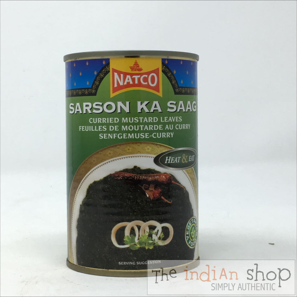 Natco Sarson Ka Saag - Canned Items