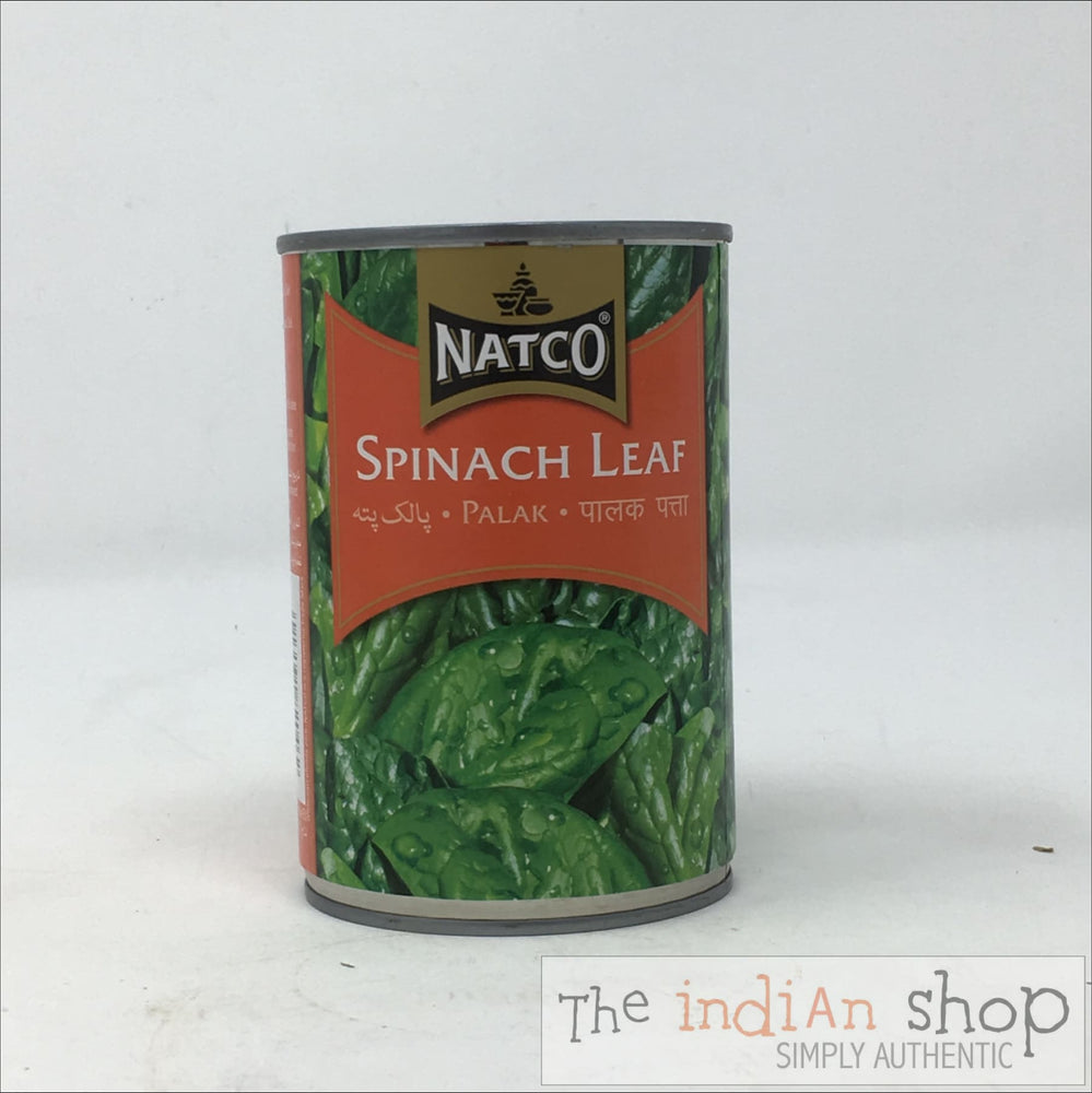 Natco Spinach Leaf - Canned Items