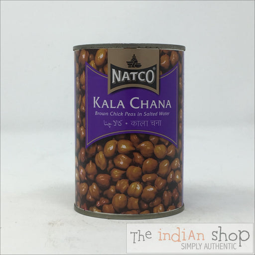 Natco Kala Chana Boiled - Canned Items