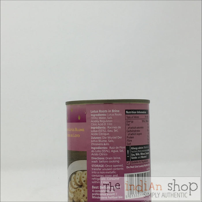 Natco Lotus Roots - 400 g - Canned Items
