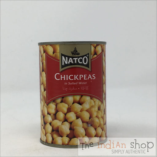 Natco Chick Peas Boiled - Canned Items