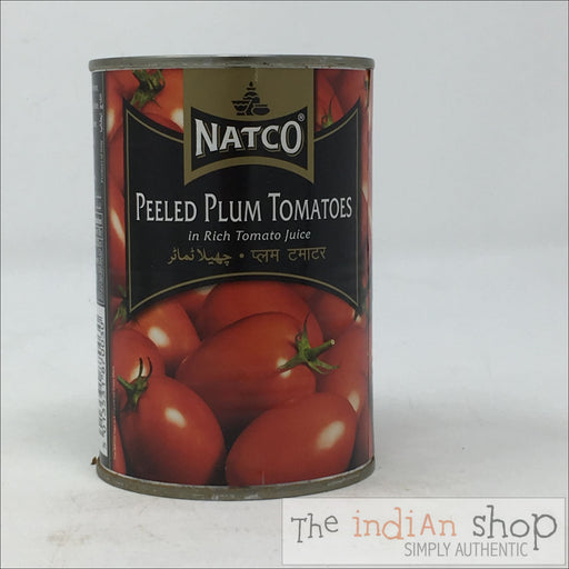 Natco Peeled Plum Tomatoes - Canned Items