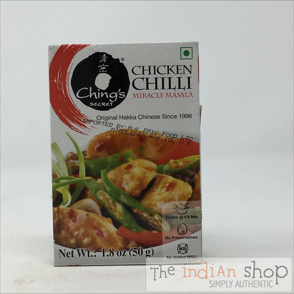 Chings Miracle Chilli Chicken Masala - 50 g - Mixes