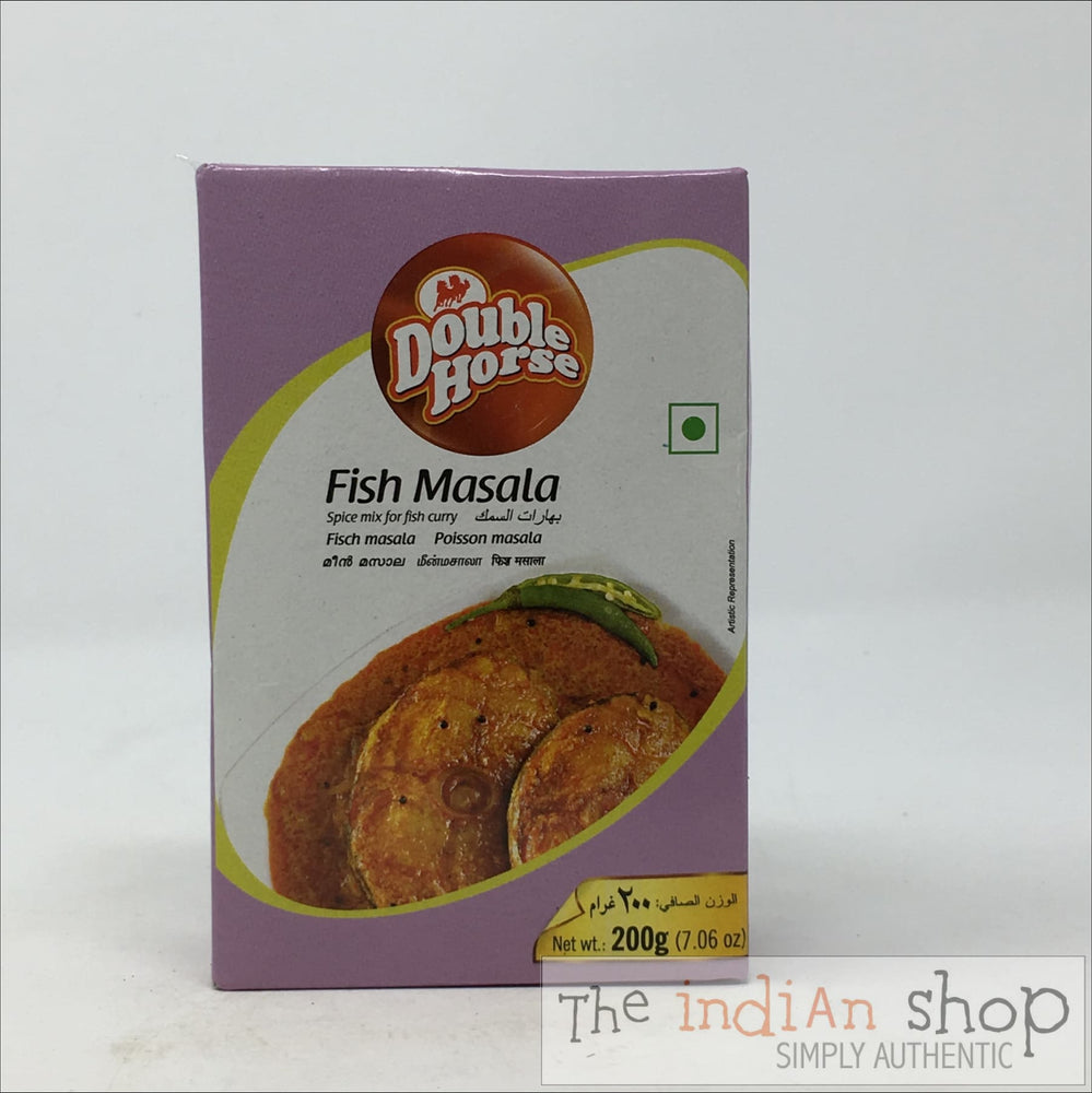 Double Horse Fish Masala - 200 g - Mixes