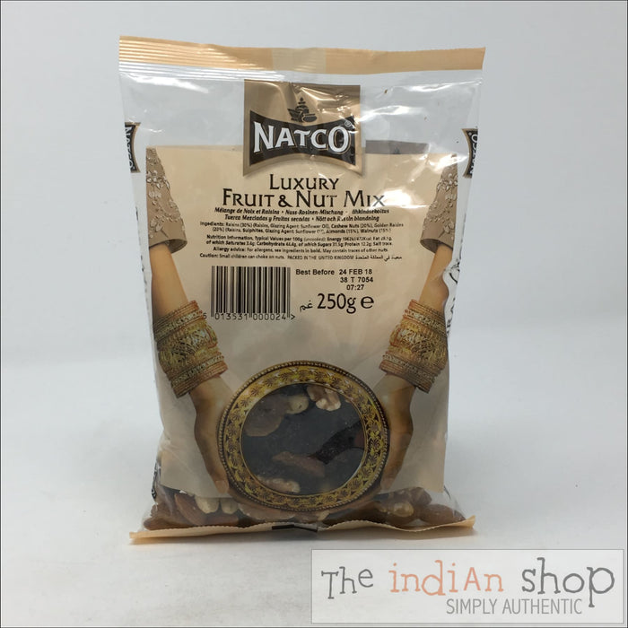 Natco Luxury Fruit and Nut Mix - 250 g - Nuts and Dried Fruits