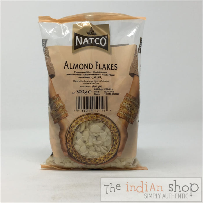 Natco Almond Flakes - 300 g - Nuts and Dried Fruits