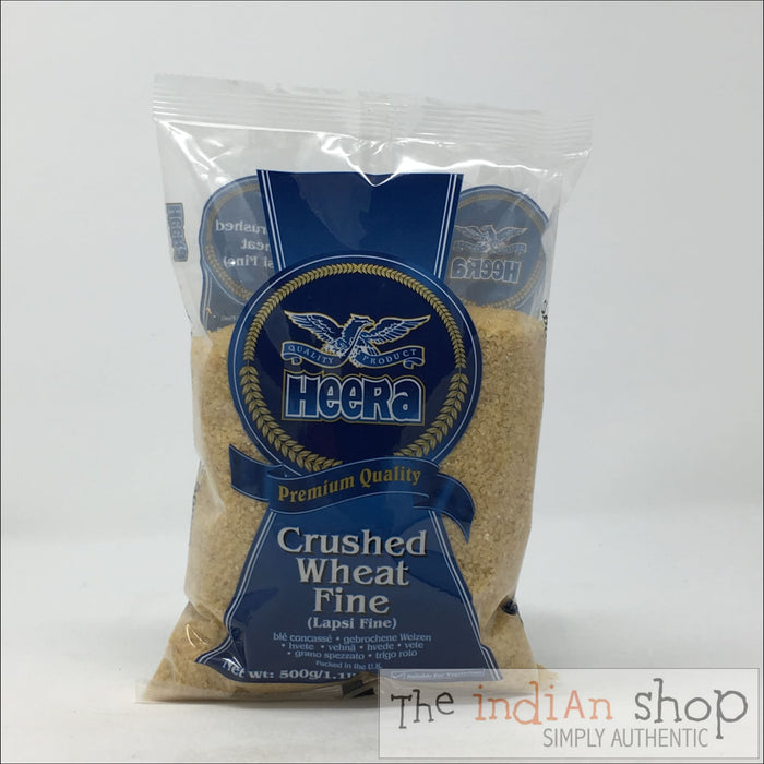 Heera Lapsi (Broken Wheat) Fine - 500 g - Other Ground Flours