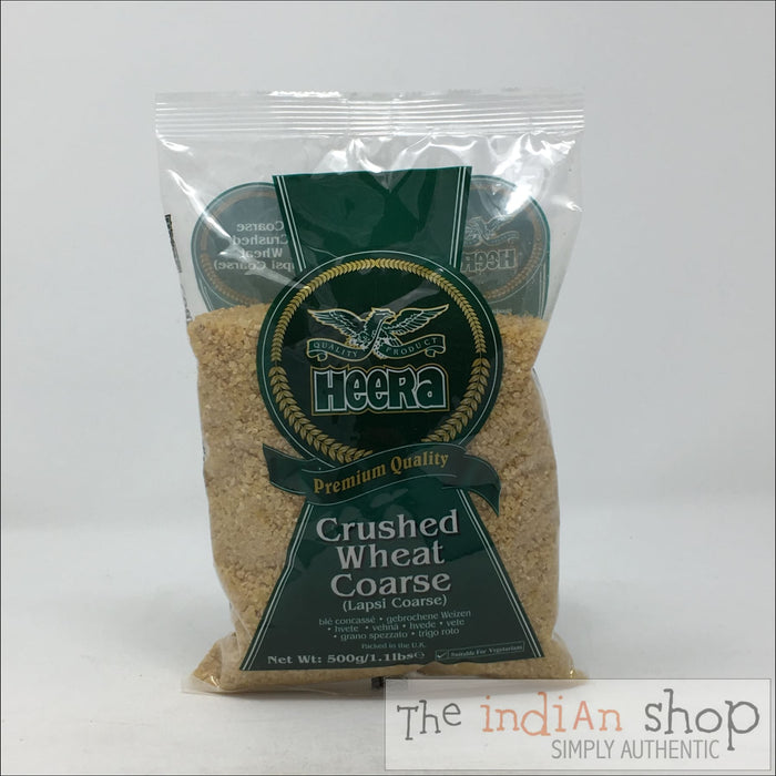 Heera Crushed Wheat Coarse - 500 g - Other Ground Flours