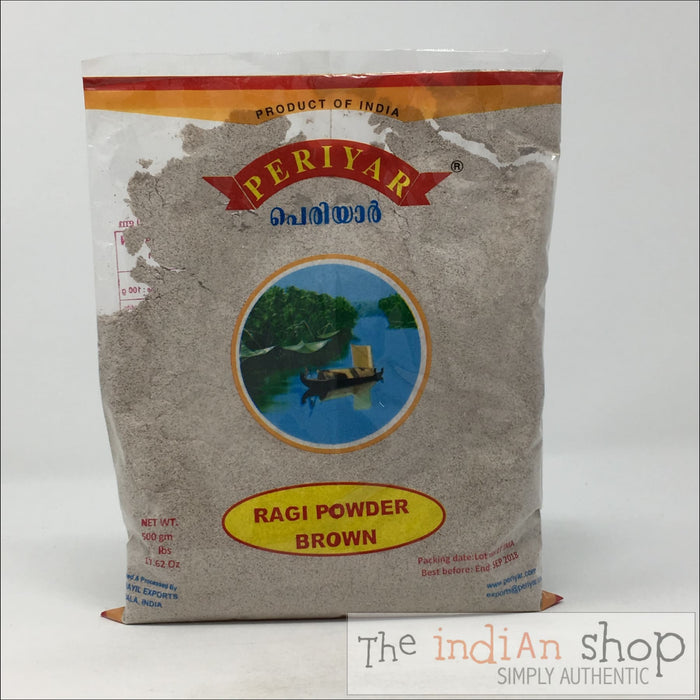 Periyar Brown Ragi - 500 Grams - Other Ground Flours