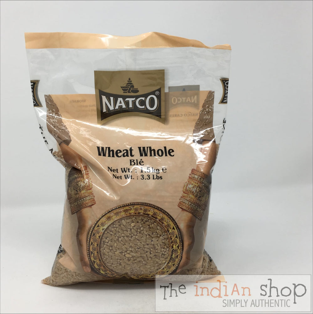 Natco Wheat Whole - 1.5 Kg - Other Ground Flours