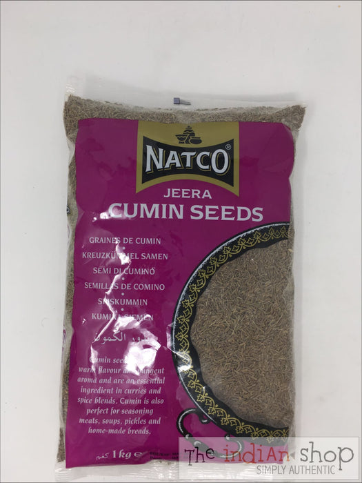 Natco Cumin Seeds - 1 Kg - Spices
