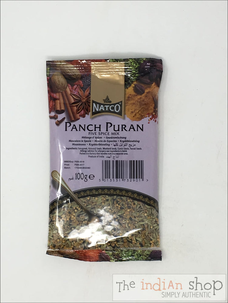 Natco Panchpuran (5 Whole Spice) - 100 g - Spices