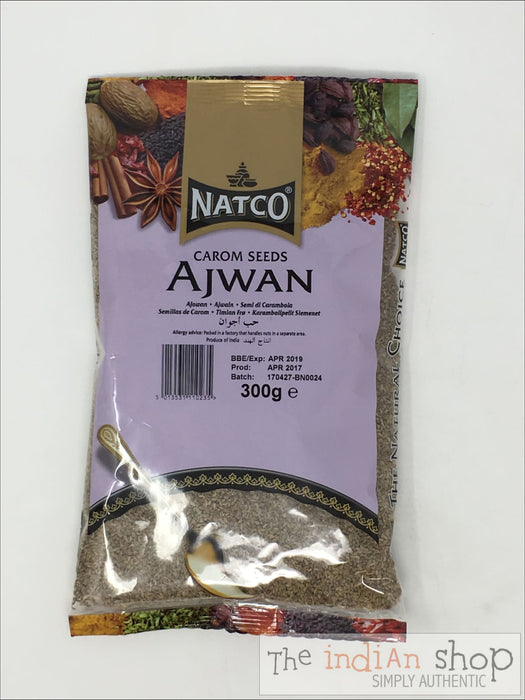 Natco (Thyme) Ajwan Seeds - 300 g - Spices
