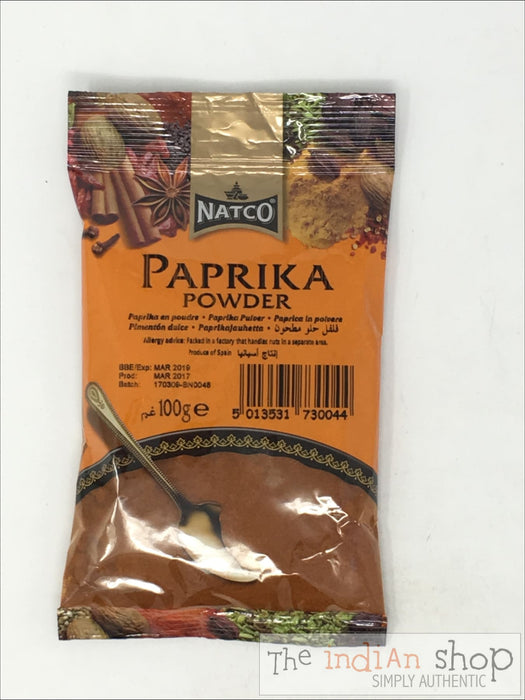 Natco Paprika Powder - 100 g - Spices