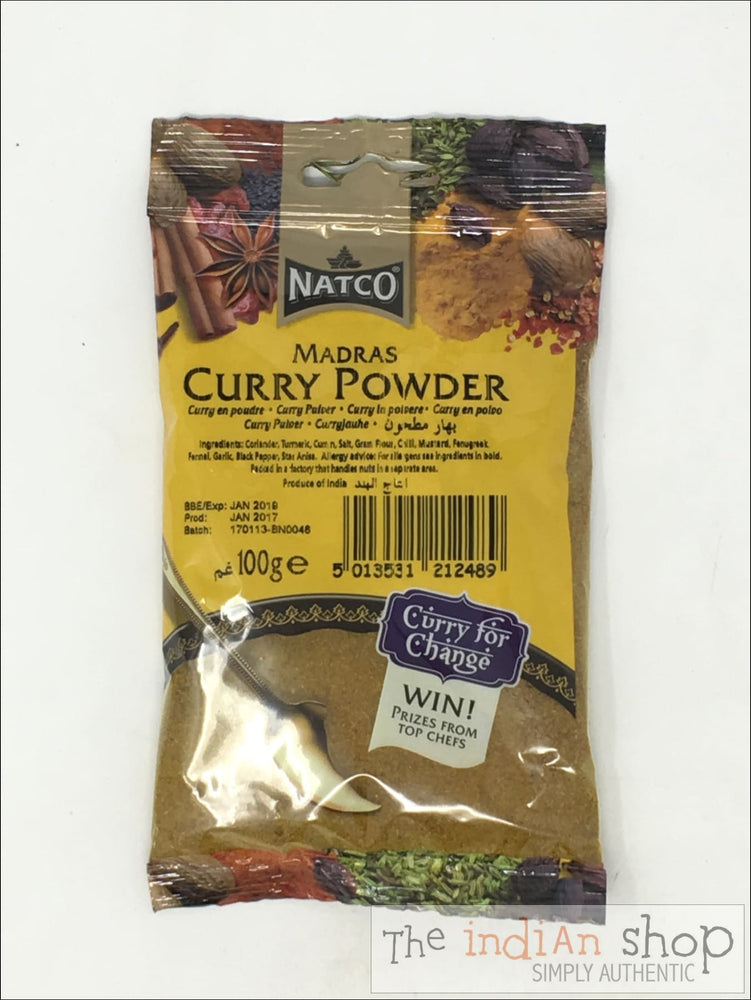 Natco Curry Powder - 100 g - Spices