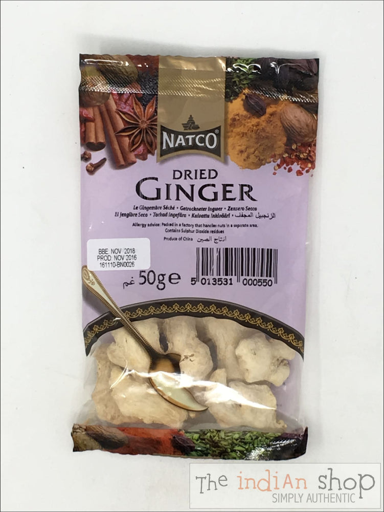 Natco Ginger Dried - 50 g - Spices