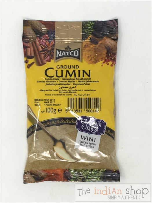 Natco Cumin Ground - 100 g - Spices