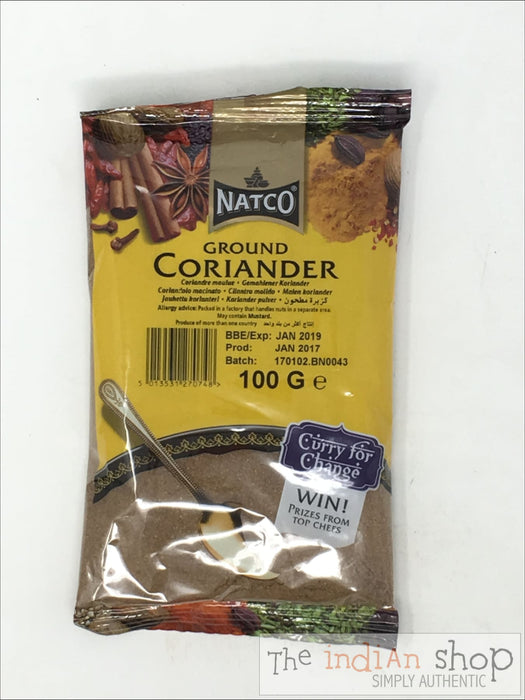 Natco Coriander Ground - 100 g - Spices