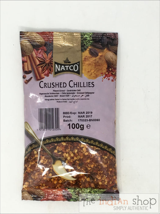 Natco Chilli Crushed - 100 g - Spices