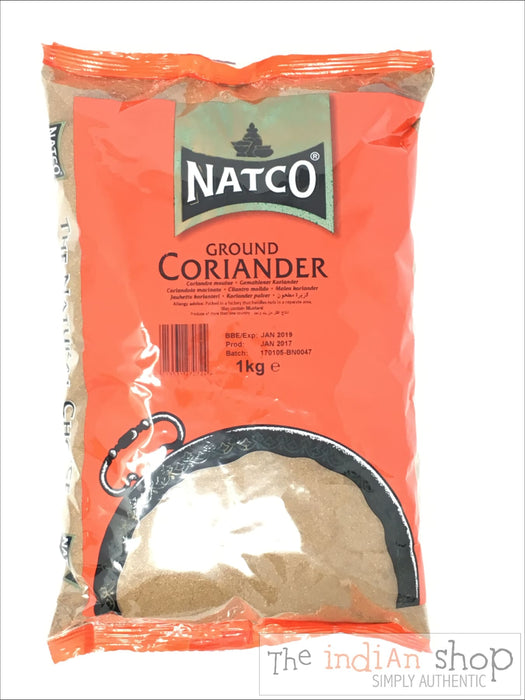 Natco Coriander Ground - 1 Kg - Spices