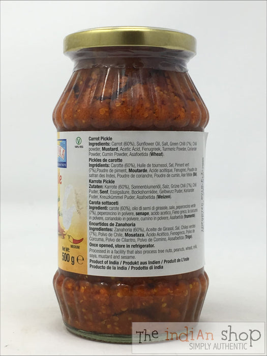 Ashoka Carrot Pickle - Pickle