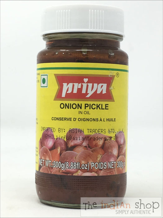 Priya Onion Pickle - 300 g - Pickle