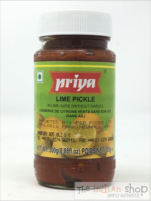 Priya Lime Pickle - 300 g - Pickle