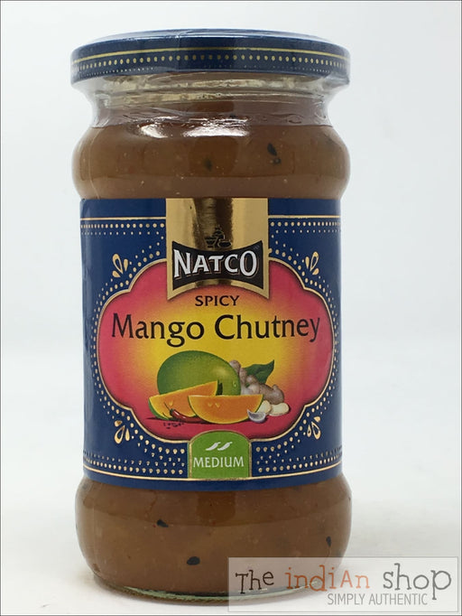 Natco Spicy Mango Chutney Medium - 340 g - Chutneys