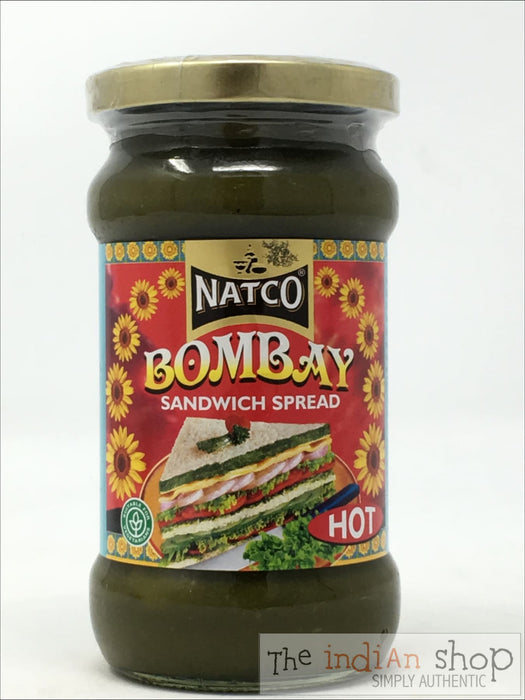 Natco Bombay Sandwich Spread (Hot) - 280 g - Chutneys