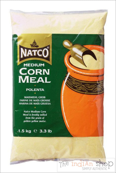 Natco Cornmeal Medium - 1.5 Kg - Other Ground Flours